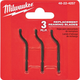 Milwaukee 48-22-4257 3-Piece Replacement Reaming Blades