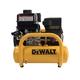 Dewalt DXCMTA5090412 6 HP 4 Gallon Oil-Free Twin Tank Pontoon Air Compressor with Subaru Engine