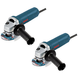 Bosch 1375A-2K 6 Amp 4-1/2 in. Small Angle Grinder (2-Pack)