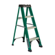 Louisville FS4004 4 ft. Type II 225 lbs. Load Capacity Fiberglass Step Ladder