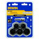 Irwin Hanson 1859146 6 Pc. Impact Bolt-Grip Lug Nut Set