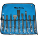AJAX tools A9029 9-Piece 0.401 Shank Air Chisel Set