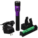 Streamlight 75492 Stinger DS LED HL Rechargeable Flashlight with Piggyback Charger (Purple)