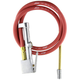 Milton Industries 501 Inflator Gauge Complete with Dual-Head Straight Foot Chuck & 5 ft. Hose