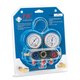 FJC 6761 R134a Aluminum Block Manifold Gauge Set