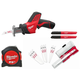 Milwaukee 2420-21CPO M12 12V Cordless Lithium-Ion Hackzall Recip Saw and Hand Tool Kit