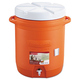 Rubbermaid 1610ORG 16 in. Insulated Beverage Container (Orange)