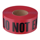 Empire 11-081 Do Not Enter Barricade Tape, 3-in x 1000 ft,