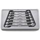 GearWrench 81906 6 Pc. Metric Flare Nut Wrench Set
