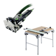 Festool C15495315 Domino Mortise and Tenon Joiner plus Multi-Function Work Table