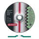 Metabo 655572000-10 9 in. x 1/4 in. A24N Type 27 Depressed Center Grinding Wheels (10-Pack)
