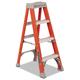 Louisville FS1504 4 ft. Type IA Duty Rating 300 lbs. Load Capacity Fiberglass Step Ladder