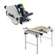 Festool C24495315 Plunge Cut Circular Saw plus Multi-Function Work Table