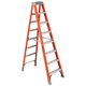 Louisville FS1508 8 ft. Type IA Duty Rating 300 lbs. Load Capacity Fiberglass Step Ladder