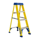 Louisville FS2004 4 ft. Type I Duty Rating 250 lbs. Load Capacity Fiberglass Step Ladder