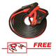 FJC 45255P 25 ft. 800 Amp Commercial-Duty Booster Cable with FREE 12 ft. 250 Amp Light-Duty Booster Cable
