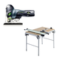 Festool C4495315 Carvex Barrel Grip Jigsaw plus Multi-Function Work Table