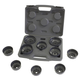 Lisle 61500 17-Piece Heavy-Duty End Cap Wrench Set