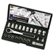 GearWrench 8921 21 Pc. SAE/Metric Combination GearRatchet Set