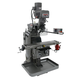 JET 690523 9 in. x 49 in. Mill with Acu-Rite 200S DRO with X- and Y-Axis Powerfeed and Air Powered Drawbar