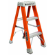 Louisville FS1503 3 ft. Type IA Duty Rating 300 lbs. Load Capacity Fiberglass Step Ladder