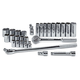 SK Hand Tool 4128-6 28-Piece 1/2 in. Drive 6-Point Std/Deep Well SAE Socket Set