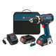 Factory Reconditioned Bosch HDS182-02-RT 18V Cordless Lithium-Ion 1/2 in. Brushless Compact Tough Hammer Drill Driver Kit