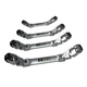 EZ Red LW4M 4-Piece Ratcheting Wrench Set