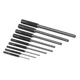 SK Hand Tool 6069 9-Piece Roll Pin Punch Set