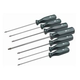 SK Hand Tool 86323 7-Piece SureGrip TORX Screwdriver Set
