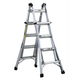Louisville L-2098-17 17 ft. Type IA Duty Rating 300 lbs. Aluminum Multi-Purpose Ladder
