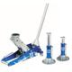 OTC Tools & Equipment 1533 2-Ton Aluminum Racing Jack with Pair of 2-Ton Aluminum Jack Stands