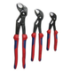 Knipex 9K008005US 3-Piece Cobra Pliers Set with Comfort Handles