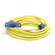 Century Wire D17223025 Pro Glo 15 Amp 12/3 AWG Triple Tap CGM Extension Cord - 25 ft. (Yellow)