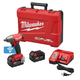 Milwaukee 2759-22 M18 FUEL 18V 5.0 Ah Cordless Lithium-Ion 1/2 in. Compact Impact Wrench Kit with Pin Detent & ONE-KEY Connectivity