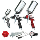 ATD 6900A 9-Piece HVLP Spray Gun Set