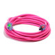 Century Wire D17445100 Pro Glo 15 Amp 12/3 AWG CGM SJTW Extension Cord - 100 ft. (Pink)