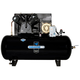 Industrial Air IH9969910 460V 10 HP 120 Gallon Oil-Lube Horizontal Air Compressor with Baldor Motor