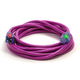 Century Wire D17449100 Pro Glo 15 Amp 12/3 AWG CGM SJTW Extension Cord - 100 ft. (Purple)