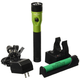 Streamlight 75488 Stinger DS LED HL Rechargeable Flashlight with Piggyback Charger (Lime Green)