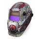 Lincoln Electric K3190-1 Bloodshot Variable Shade Auto Darkening Welding Helmet