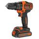 Black & Decker BDCDD220C 20V MAX 1.5 Ah Cordless Lithium-Ion 3/8 in. 2-Speed Drill Driver Kit