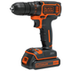 Black & Decker BDCDD120C 20V MAX 1.5 Ah Cordless Lithium-Ion 3/8 in. Drill Driver Kit