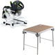 Festool C1500608 Kapex Sliding Compound Miter Saw plus MFT/3 Basic  Multi-Function Work Table