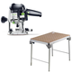 Festool C16500608 Plunge Router plus MFT/3 Basic  Multi-Function Work Table