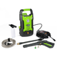 Greenworks 5100802 13 Amp 1,500 PSI 1.2 GPM Electric Pressure Washer