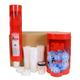 3M 16359 75-Piece PPS 13.5 oz. Midi 125 Micron Lid/Liner Dispenser Kit