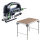 Festool C5500608 Carvex D-Handle Jigsaw plus MFT/3 Basic  Multi-Function Work Table