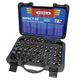 VIM Tool IMPACT50 50-Piece 3/8 in. Square Drive Impact Master Set