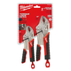 Milwaukee 48-22-3402 Torque Lock Curved Jaw Locking Pliers Set